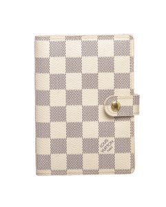 Louis Vuitton Louis Vuitton Damier Azur Small Agenda PM Notebook