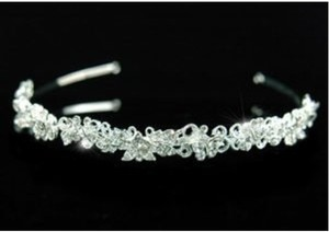 Gail Rhinestone Wedding Bridal Headband Tiara
