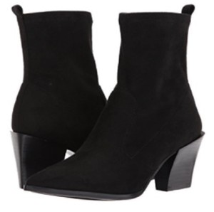 Nine West Pointy Toe Suede Pointed Toe Black Boots