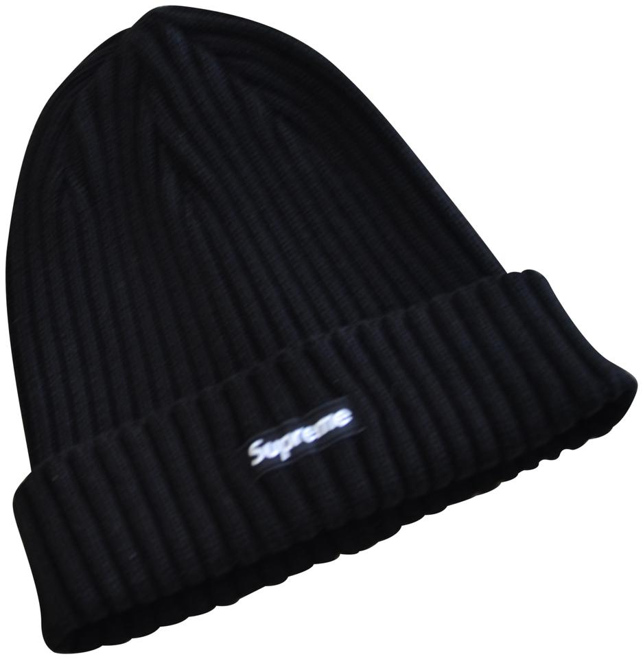 Supreme Black Overdyed Ribbed Beanie Hat - Tradesy 26b17171b3e