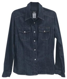 Dolce&Gabbana Button Down Shirt Denim