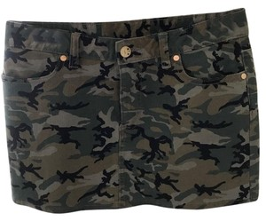 Tory Burch Mini Skirt Camo