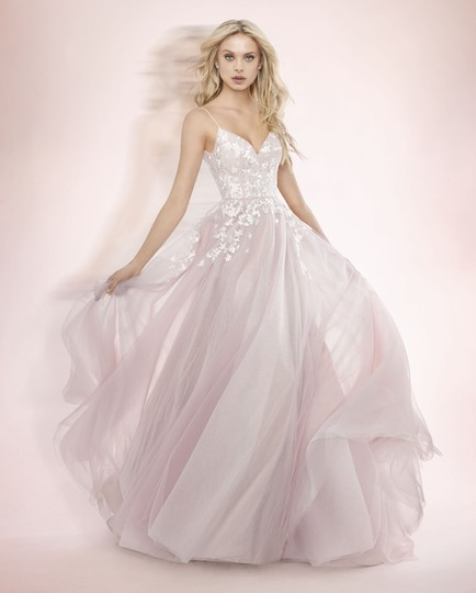 Pink Tulle Wedding Gown: Blush By Hayley Paige Pink Tulle Embroidery 1709 Denver