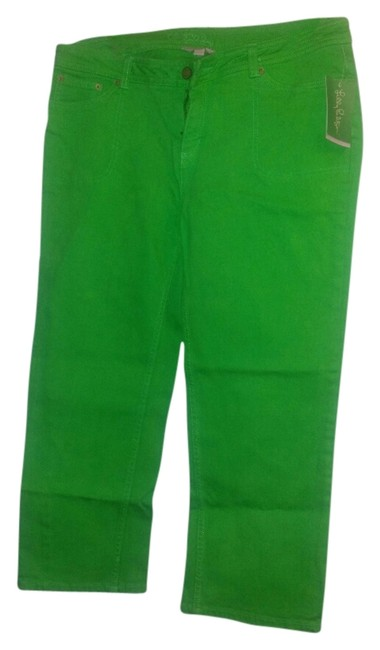 Preload https://img-static.tradesy.com/item/2304461/lilly-pulitzer-lime-green-kennedy-capris-size-10-m-31-0-0-650-650.jpg