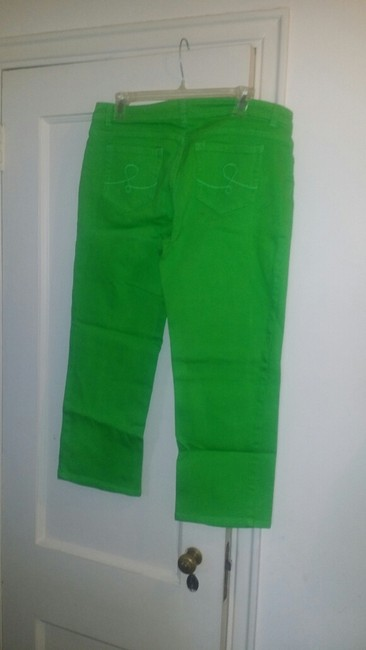 Lilly Pulitzer New With Tags Capris Lime Green