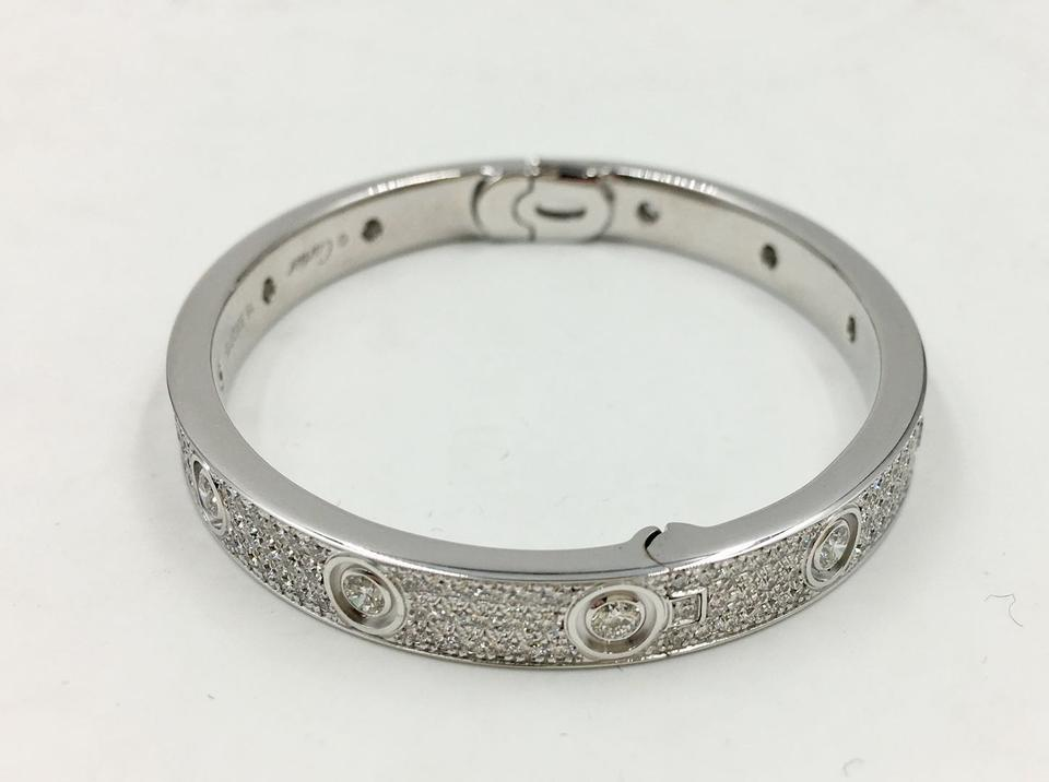 d92b7b1bb31a03 Cartier LOVE BRACELET, DIAMOND-PAVED Image 6. 1234567