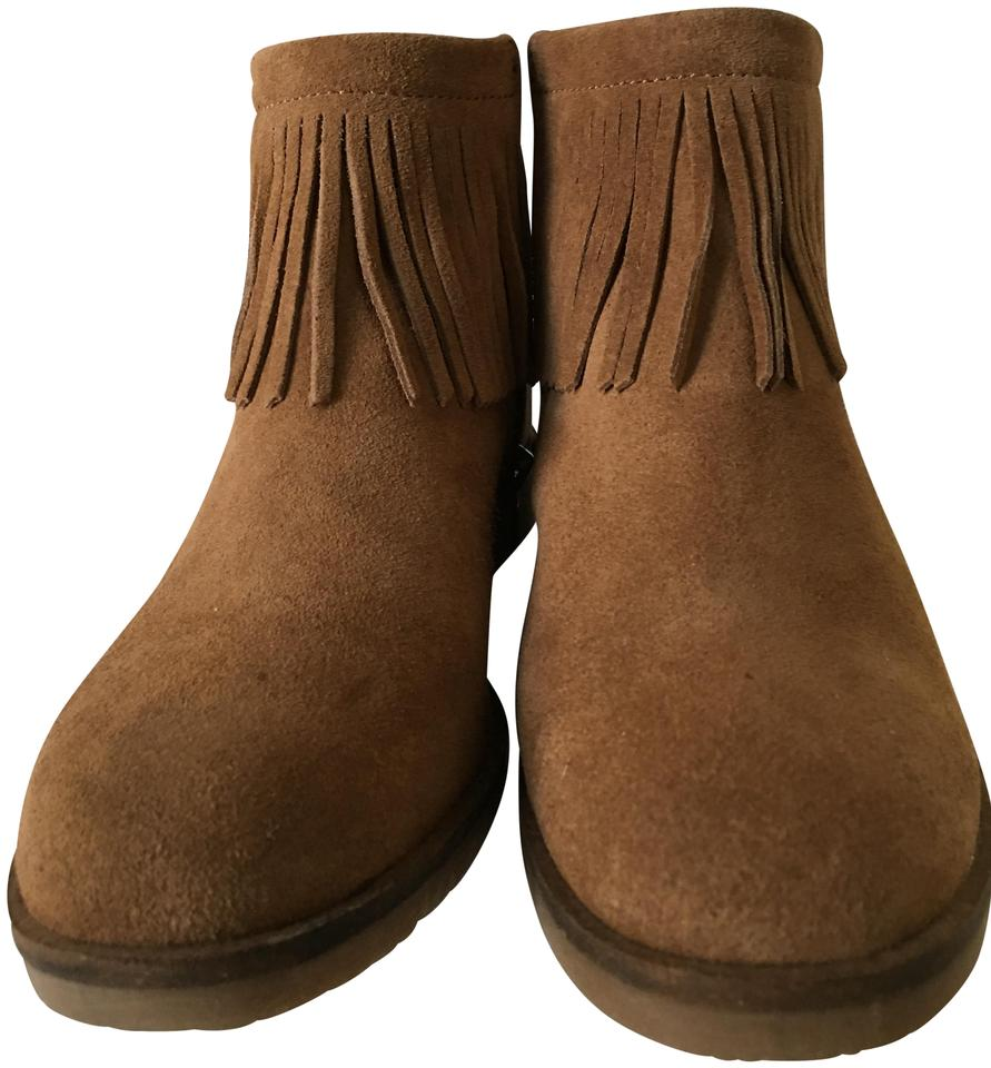 Lucky Brand Brand Lucky Cognac Brown Suede Boots/Booties 0f08ca