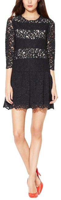 Item - Black Revolution Lace Drop Waist Short Night Out Dress Size 4 (S)
