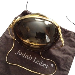 Judith Leiber Vintage Lucite Designer Cross Body Bag
