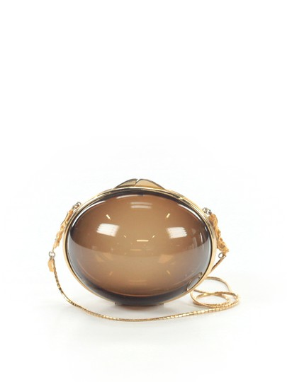 Preload https://item2.tradesy.com/images/judith-leiber-vintage-60-s-70-s-purse-with-chain-strap-smoky-lucite-lucitebrass-clutch-2304481-0-1.jpg?width=440&height=440