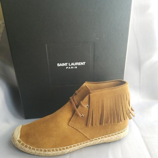 Saint Laurent Tan Boots Image 3