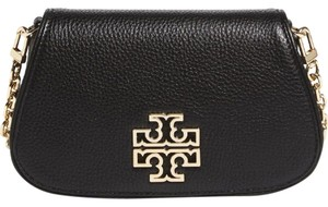 Tory Burch Mini Leather Chain Flap Cross Body Bag
