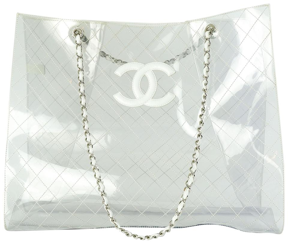 3a24611cd0e0 Chanel Timeless Naked Xxxl Transparent Lambskin Leather and Tote ...