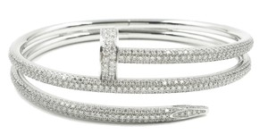 Cartier JUSTE UN CLOU BRACELET WHITE GOLD, DIAMONDS