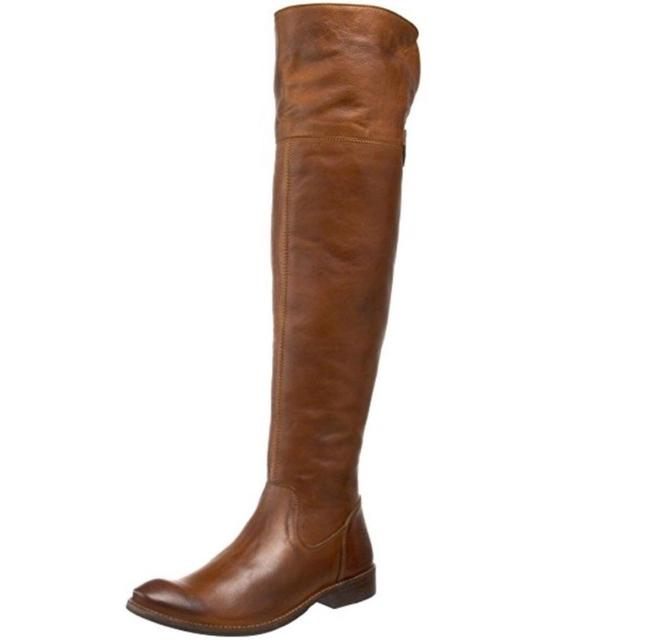 Frye Brown New Tall Shirley Over Knee Boots/Booties Size US 7 Regular (M, B) Frye Brown New Tall Shirley Over Knee Boots/Booties Size US 7 Regular (M, B) Image 1