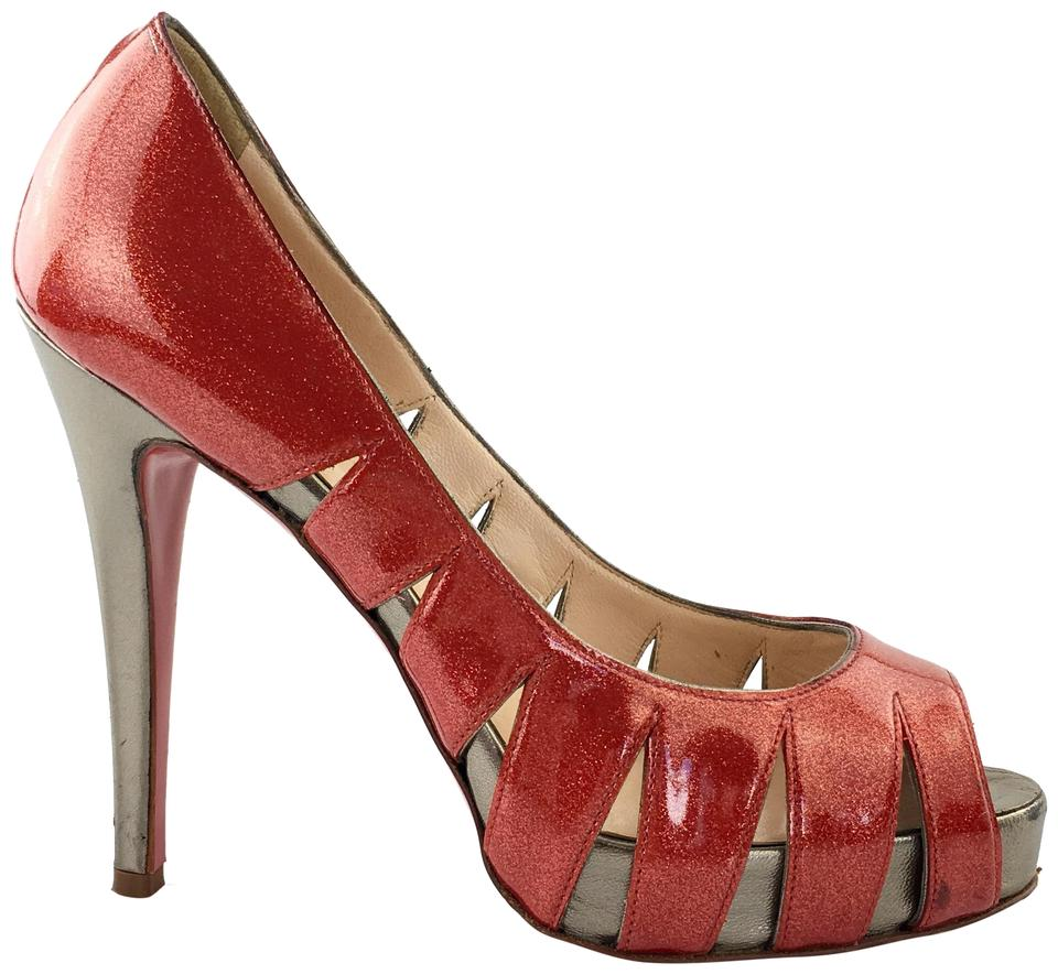 Christian Louboutin Red Red Red Fontanete Patent Pumps d4a2b0
