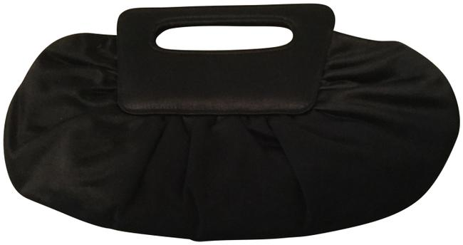 Item - Black Satin Clutch