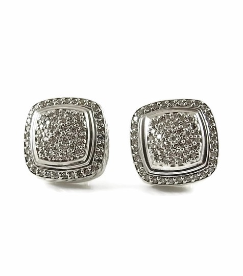 Preload https://img-static.tradesy.com/item/23045624/david-yurman-silver-white-diamonds-sterling-11mm-albion-clip-on-earrings-0-0-540-540.jpg
