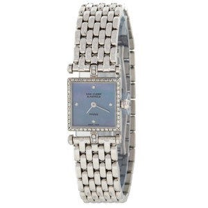 Van Cleef & Arpels 322942 18K White Gold Diamond Swiss Quartz Watch (1958)