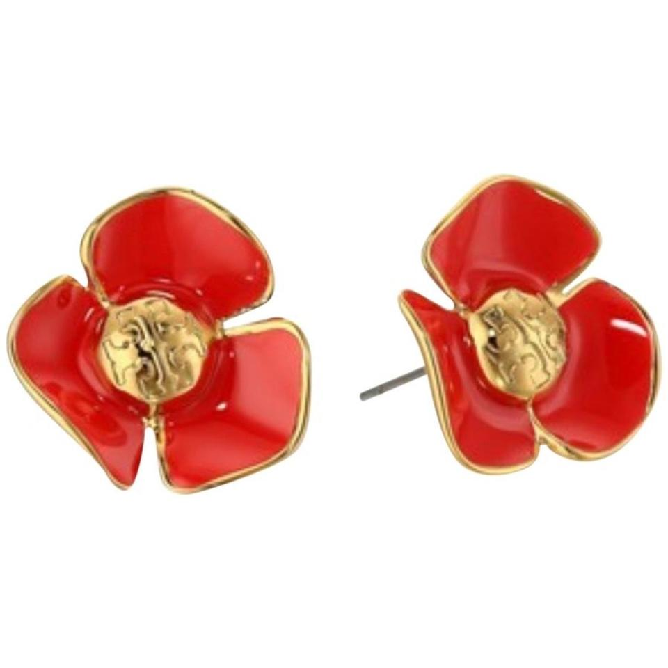 Tory Burch Fleur Stud Earrings