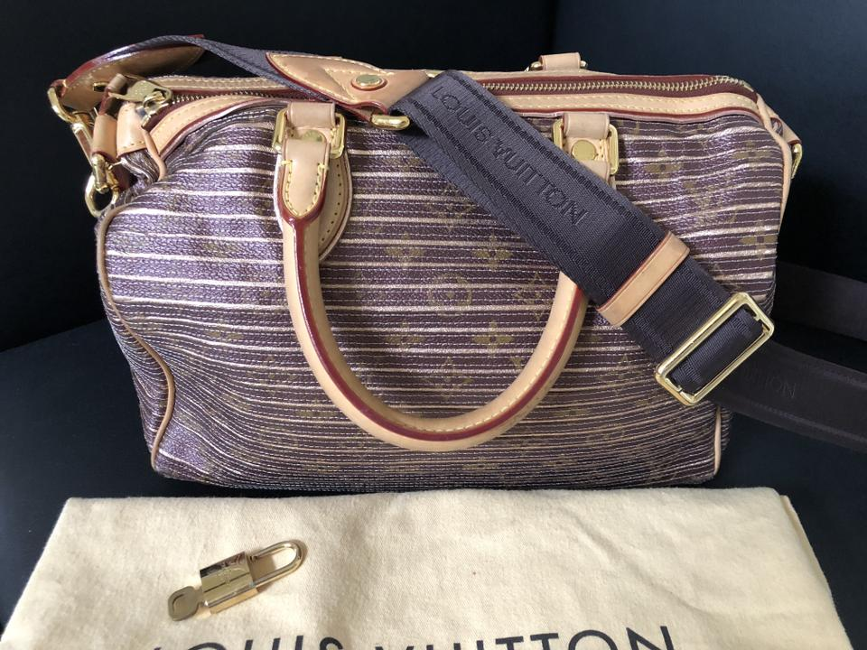 af303251bb82 Louis Vuitton Speedy Eden Peche Monogram Bandouliere 30 Special Edition  Coated Canvas Cross Body Bag - Tradesy