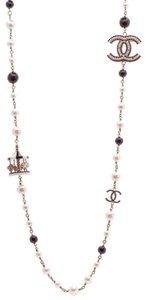 Chanel Chanel Carousel Long Necklace - Gold