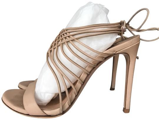Casadei Nude Strappy Sandals Size US 6 Regular (M, B