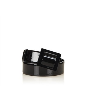 Chanel Patent Leather Belt