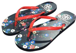 Tory Burch New Flip Flop New B Flip Flop B Flip Flop Tag red Sandals