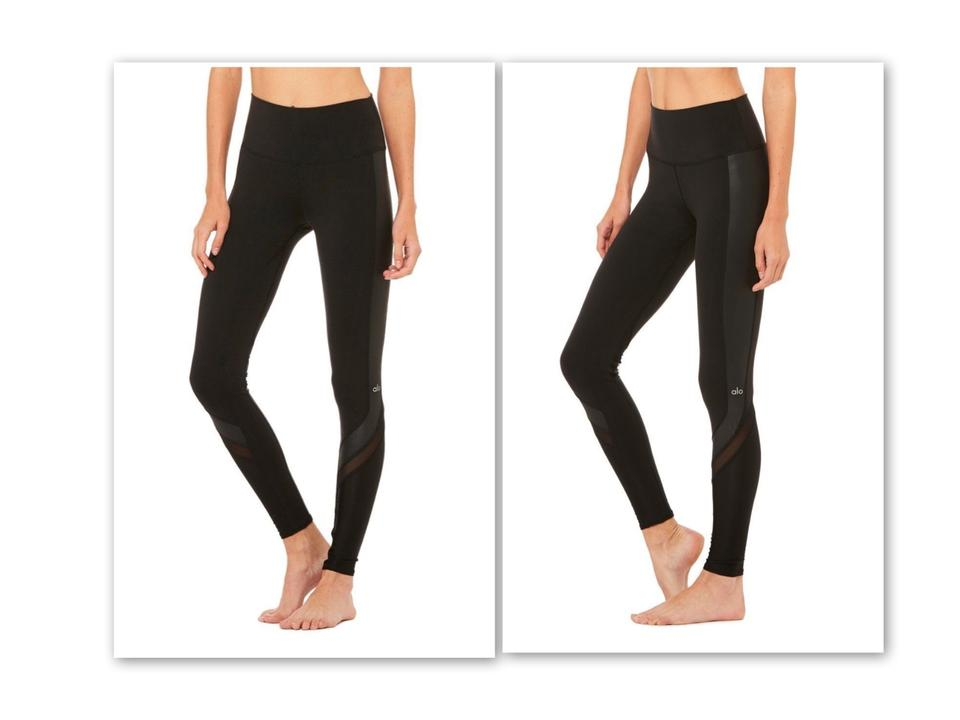 26eb6afe4af7be Alo Black The Celebrity's Choice: Elevate By Yoga Activewear Bottoms ...