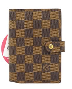 Louis Vuitton Louis Vuitton Damier Ebene Agenda Pm Day Planner Cover