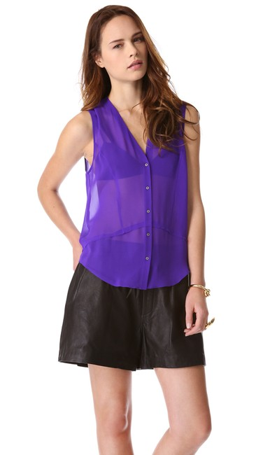 Preload https://img-static.tradesy.com/item/23047192/helmut-lang-purple-ghost-silk-sheer-button-blouse-button-down-top-size-2-xs-0-0-650-650.jpg