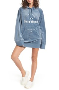Juicy Couture short dress blue Out Of Stock Online New Velvet Gothic on Tradesy