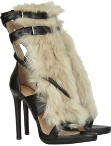 Reed Krakoff Fur Formal Fur Fur Black beige Pumps