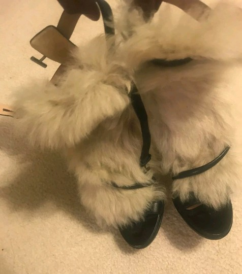 Reed Krakoff Fur Formal Fur Fur Black beige Pumps Image 2