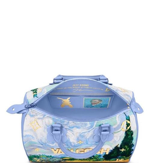 Louis Vuitton Tote in Soft Blue Image 2