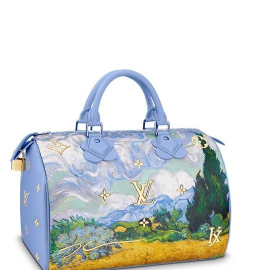 Louis Vuitton Tote in Soft Blue Image 4