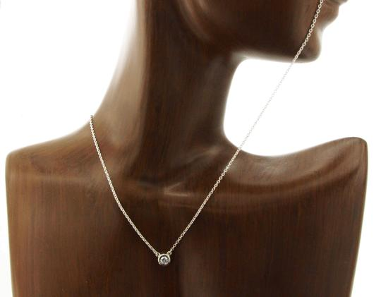 Tiffany & Co. Tiffany & Co. 925 Silver Elsa Peretti Single Diamonds Necklace Image 2