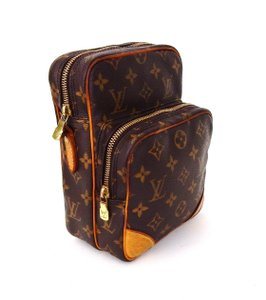Louis Vuitton Monogram Vintage Amazon Toiletry Brown Travel Bag