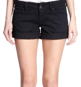Hudson Cuffed Shorts black