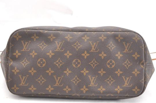 Louis Vuitton Neverfull Mm Monogram Tote in Brown Image 5
