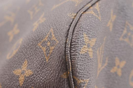 Louis Vuitton Neverfull Mm Monogram Tote in Brown Image 6