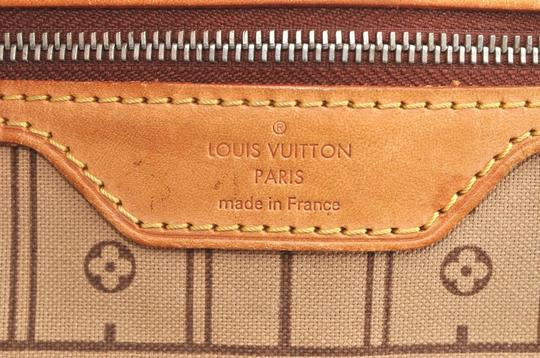 Louis Vuitton Neverfull Mm Monogram Tote in Brown Image 7