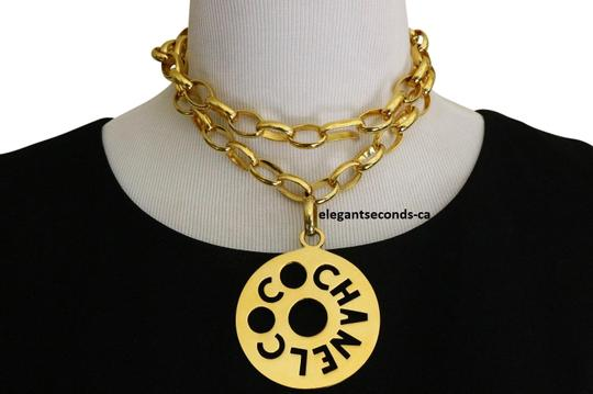 Preload https://img-static.tradesy.com/item/23048368/chanel-salerare-vintage-large-cc-coco-pendant-chunky-chain-necklace-0-1-540-540.jpg