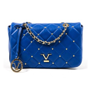 Versace 19.69 Leather Italian Gold Chain Quilted Cross Body Bag cf8395dc7793b