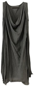 Nicholas K short dress Gray Downtown Linen Drape on Tradesy