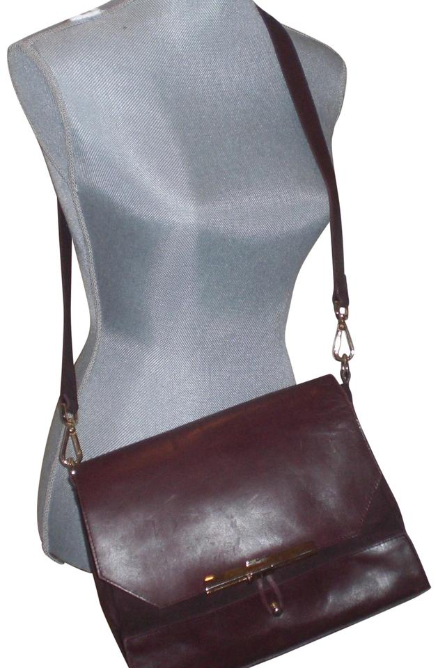 e8745df3 Zara Zara-genuine-leather-shoulder-crossbody-bag-gold-tone Zara-genuine-l  Burgundy Leather Cross Body Bag