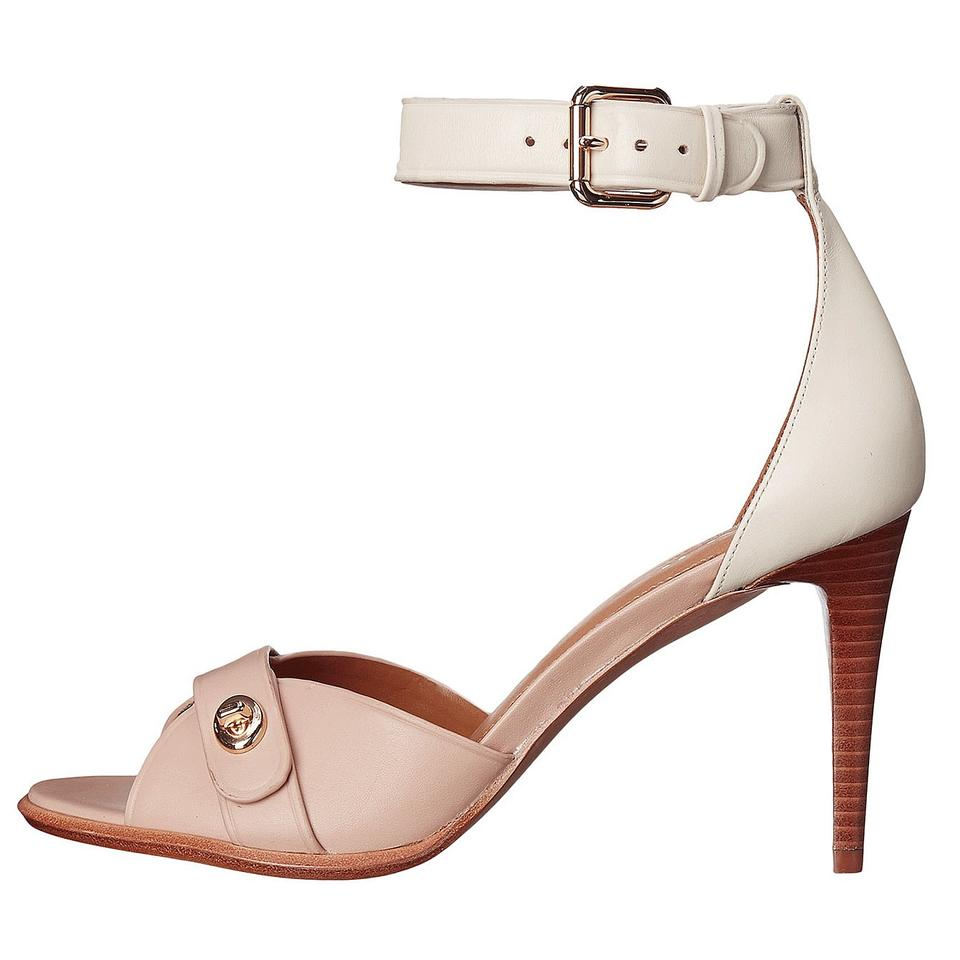 ef96496b220 Coach Multicolor A01229 Kathleen Beechwood Chalk Ankle Strap Leather ...