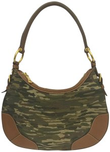 Prada Jacquard Leather Hobo Bag