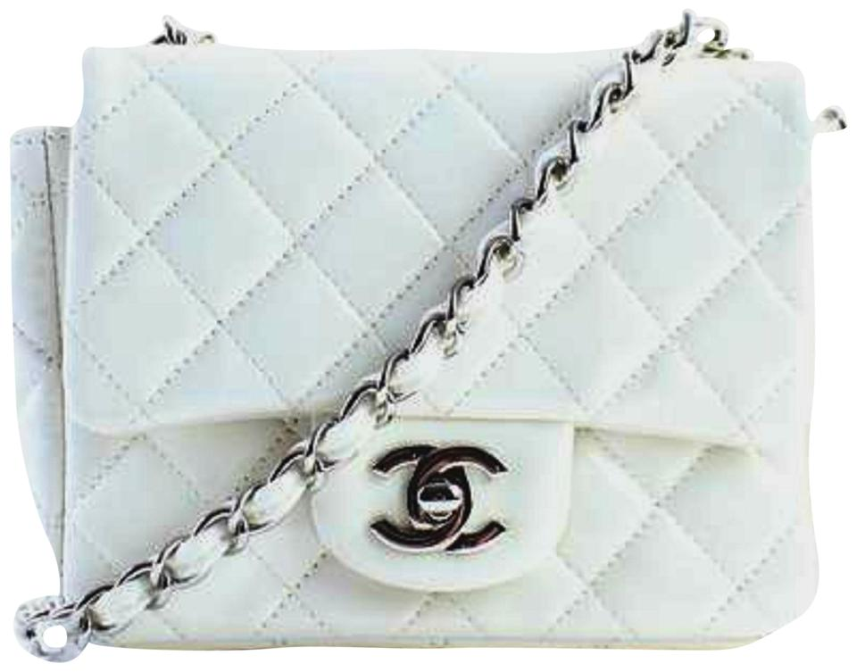 55e3d7b195363a Chanel Mini Flap Classic Flap Caviar Flap Square Flap Small Flap Shoulder  Bag Image 0 ...